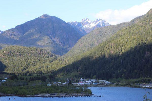 Tahsis scenery