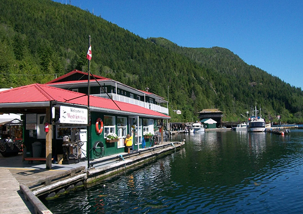 Marine Services The Village Of Tahsis Vancouver Island